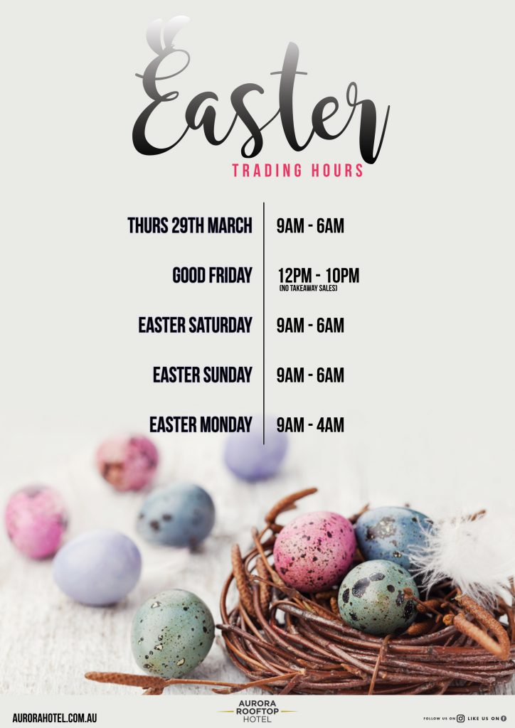 easter monday trading hours - photo #1